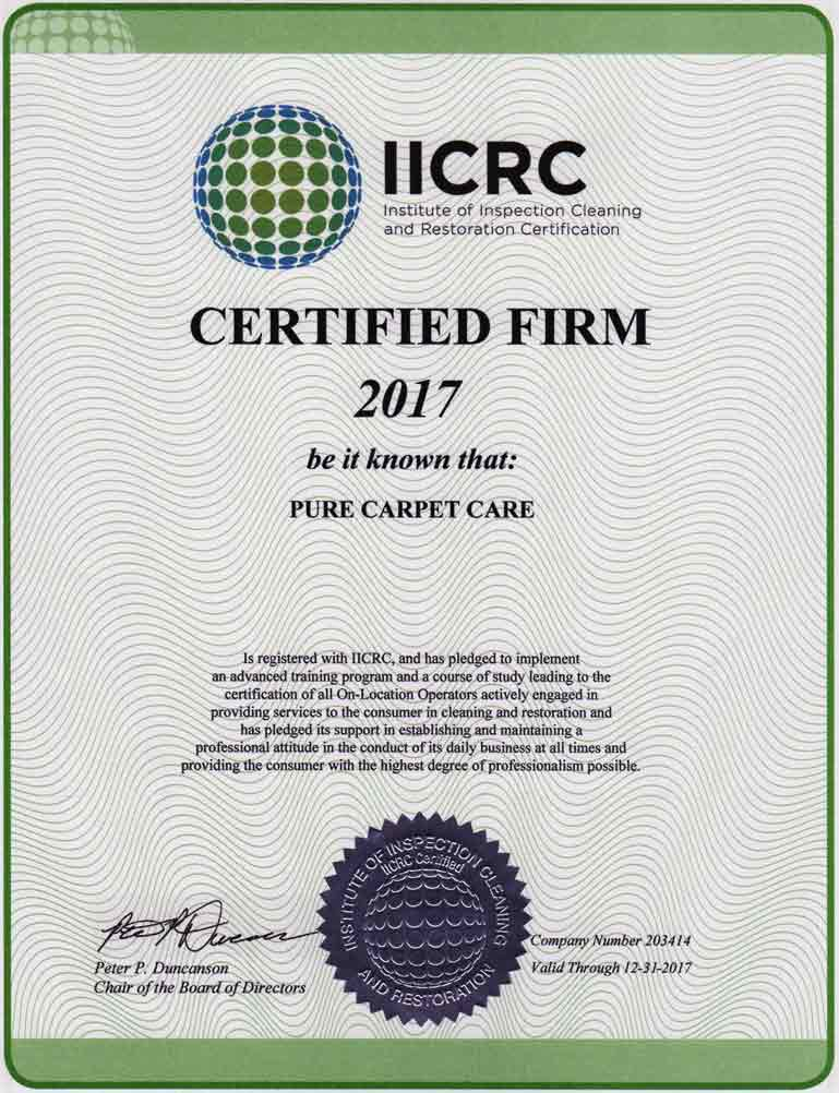 Certified Firm 2017