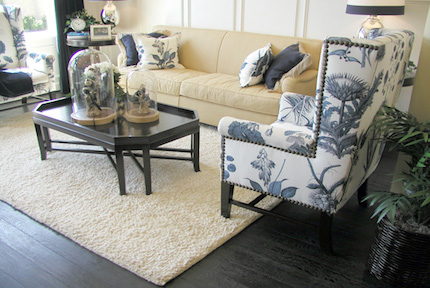 Upholstery Living Room Cleaning