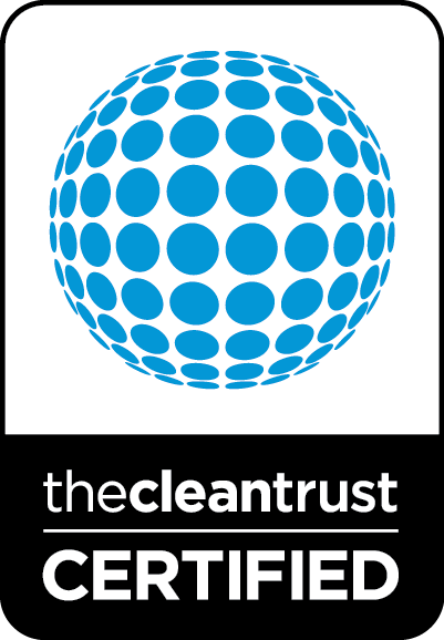 thecleantrust certified brand badge